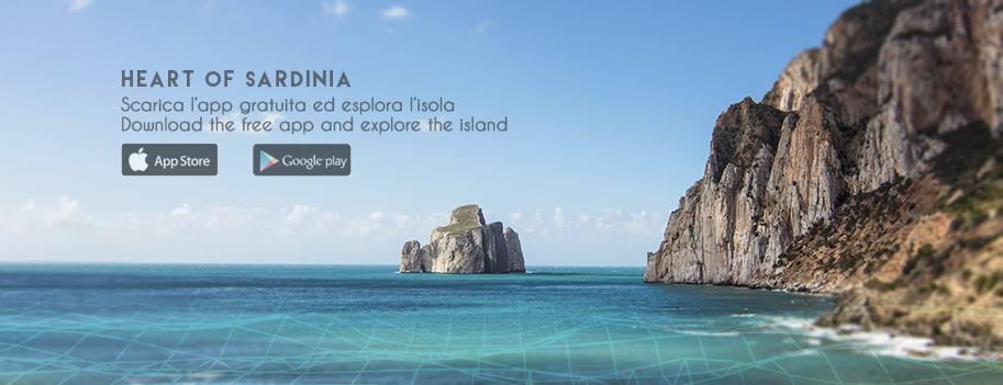 L'app di Heart of Sardinia